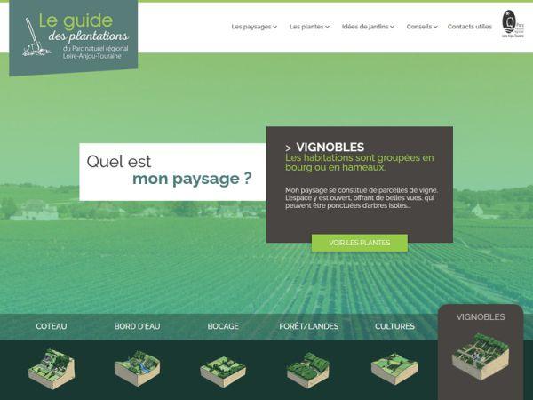 Lancement du Guide des plantations du PNR Loire-Anjou-Touraine