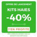 PROMO -40% sur les kits de haies