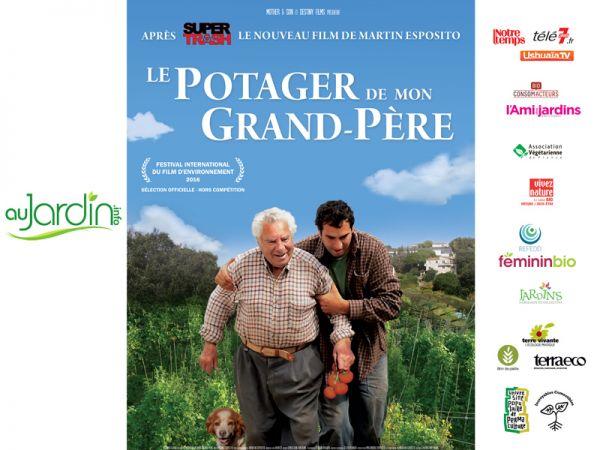 Au Jardin partenaire du film Le potager de mon grand-père