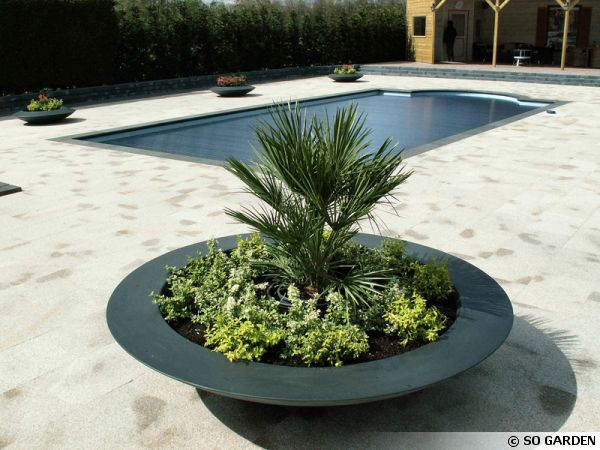 bacs et jardini res en fibre de verre et r sine polyester. Black Bedroom Furniture Sets. Home Design Ideas