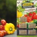 Bâtonnets d'engrais Tomates et Légumes d'Algoflash Naturasol
