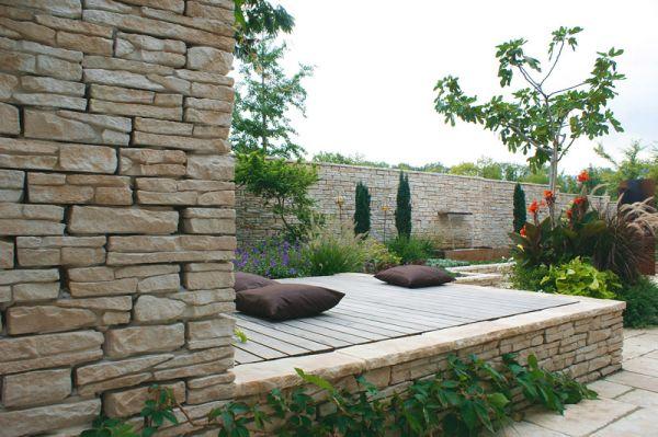 Bradstone murs et murets rythment l espace for Murs exterieurs terrasse