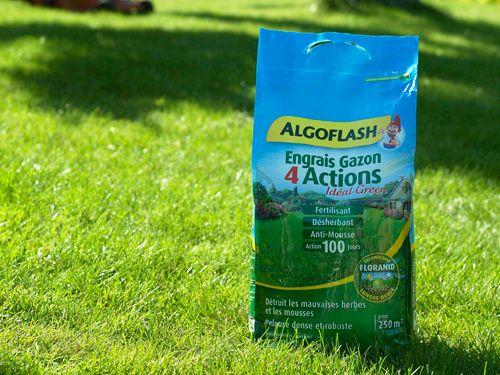 Engrais gazon floranid 4 actions algoflash - Engrais gazon printemps ...