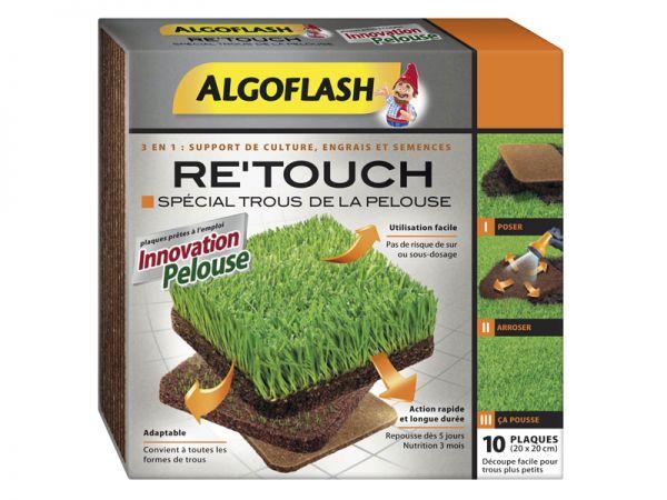 nouveaut 2014 algoflash re touch sp cial trous de la pelouse. Black Bedroom Furniture Sets. Home Design Ideas