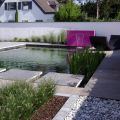 Bassins, murs et lames d'eau pour le bassin