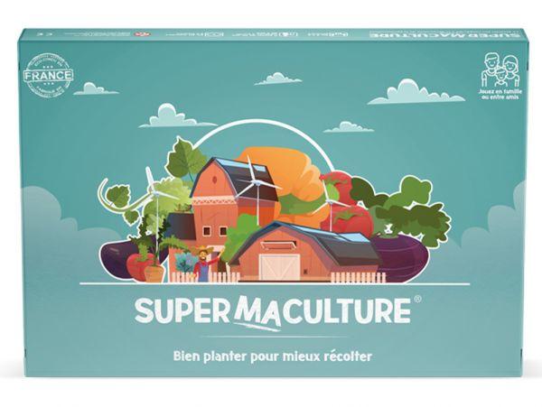 Supermaculture, premier jeu de société à la découverte de la permaculture