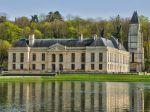 Le jardin du château de Mery-sur-Oise