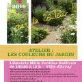 """Atelier """"Les couleurs du jardin"""""""