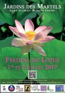 Festival du lotus aux Jardins des Martels