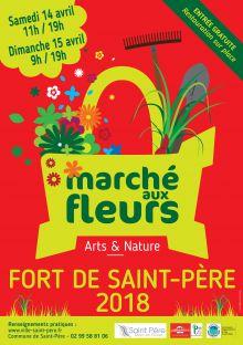 """Marché aux fleurs """"ARTS ET NATURE"""""""