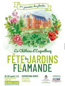 Le Château d'Esquelbecq fête les Jardins à la Flamande