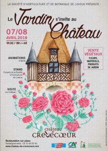 Le jardin s'invite au château de Crévecoeur