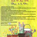 Fleurs et plantes en fête