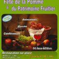34ème « fête de la pomme et du patrimoine fruitier »