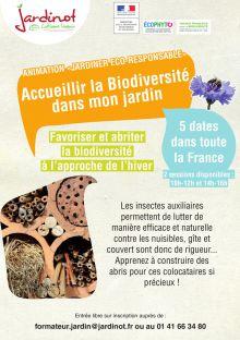 Accueillir la biodiversité dans son jardin
