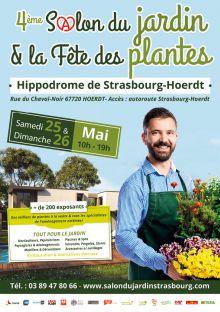 4ème Salon du Jardin & Fête des Plantes à STRASBOURG le(s) 25 & 26 ...