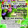 """L'assiociation les Petits Jardins Marsiens """"fête le jardin"""""""