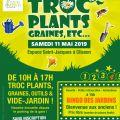 Troc plants, graines et vide-jardin