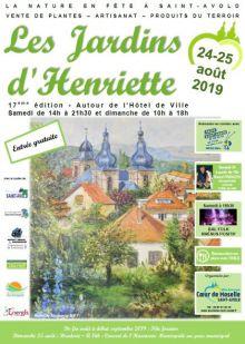 17ème éditions des Jardins d'Henriette