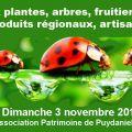 Foire aux plantes, arbres, fruitiers anciens, produits régionaux, artisanat