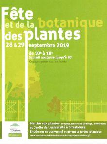 Fête des plantes et de la botanique