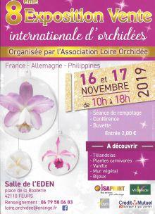 Exoposition internationale d'orchidées