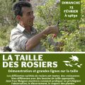 Démonstration de taille des rosiers par Jean-Yves Meignen