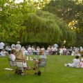 Apéro Jazz, White party aux Jardins des Martels