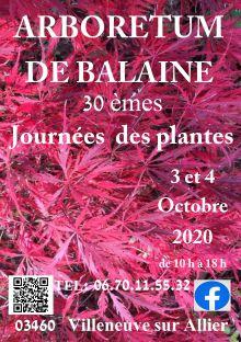 """30 ème Fête des Plantes """"Aglaë Adanson"""""""