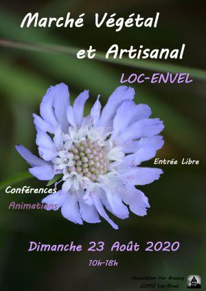 Marché végétal et artisanal de Loc-Envel