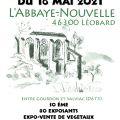 Fête des Plantes 2021 de l'Abbaye-Nouvelle de Léobard
