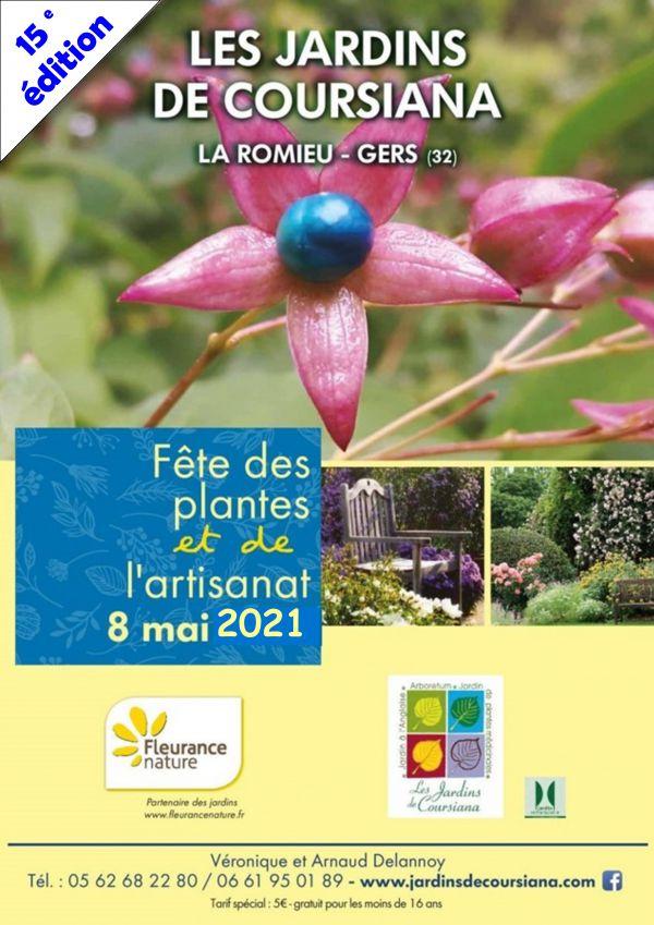 15ème journée des plantes et de l'artisanat aux Jardins de Coursiana