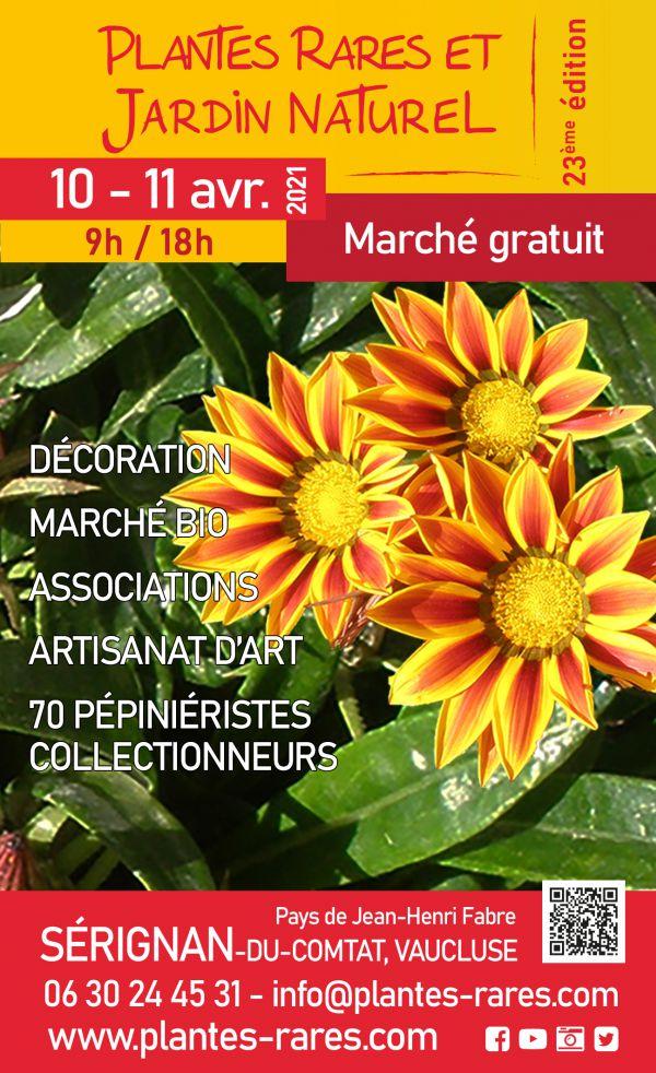 Plantes rares et jardin naturel