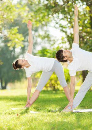 Yoga aux Jardins des Martels