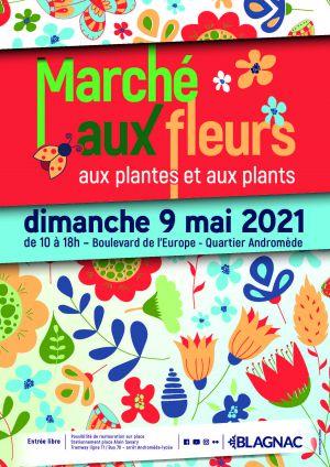 Marché aux fleurs, aux plantes et aux plants