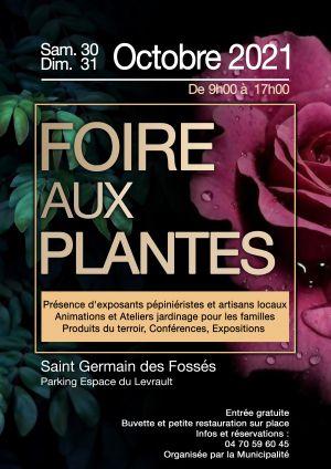 1ère Foire aux plantes, aux arbres et arbustes