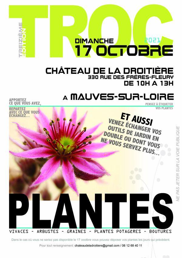 Troc plantes à La Droitière