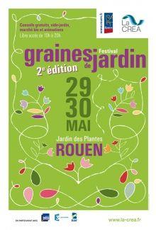 Festival graines de jardin jardin des plantes de rouen for Graines de jardin 2016 rouen