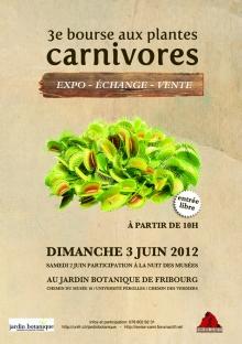 3�me bourse aux Plantes Carnivores