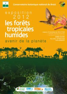 "Exposition ""For�ts tropicales humides, avenir de la plan�te"" � Brest"