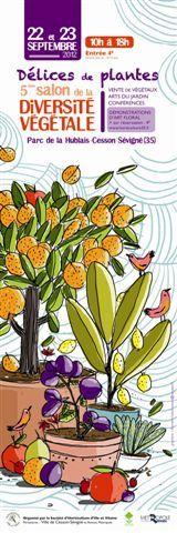 5�me salon de la Diversit� V�g�tale D�lices de plantes