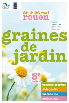 Festival graines de jardin 2013 rouen le s 25 et 26 mai for Graines de jardin 2016 rouen