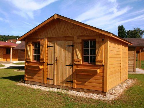Abris de jardin garages chalets en bois entretenez malin for Abri de jardin imitation bois