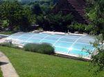 L'abri de piscine bas