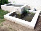 Création d'un bassin à deux niveaux