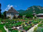 Le Château des Allues et son potager