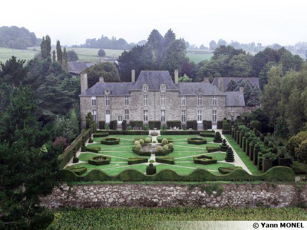 Les jardins du château de la Ballue