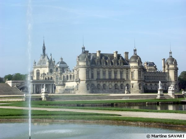 Le jardin du ch teau de chantilly 60 - Chateau de chantilly adresse ...