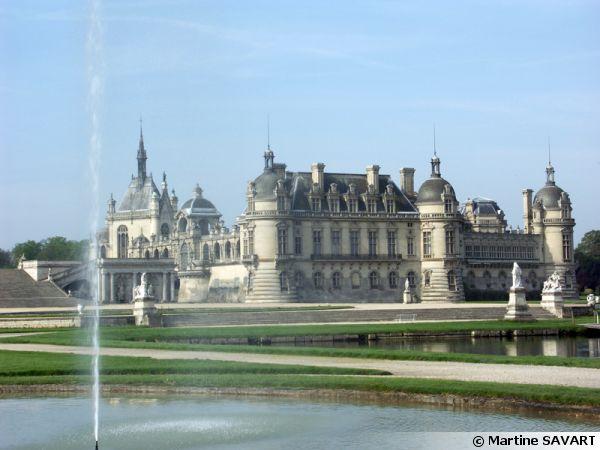Le jardin du Château de Chantilly (60)
