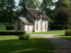 Le hameau au Château de Chantilly